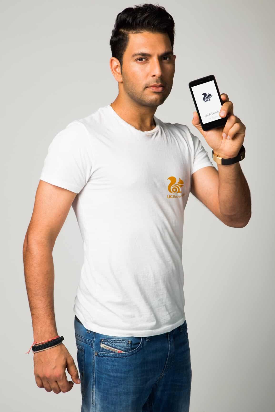 UC Browser appoints Yuvraj Singh as Brand Ambassador ...