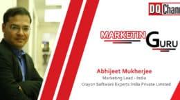 DQ Channels Marketing Guru- Abhijeet Mukherjee, Crayon Software