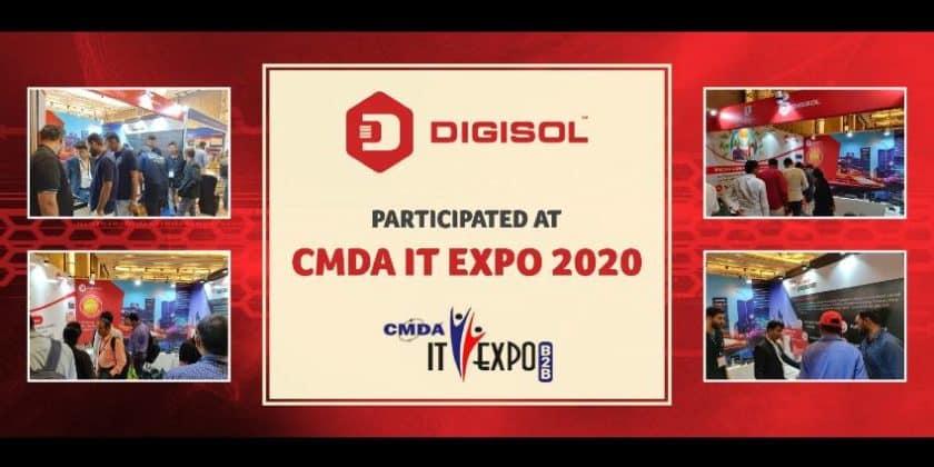 Digisol Participated at CMDA B2B Expo 2020